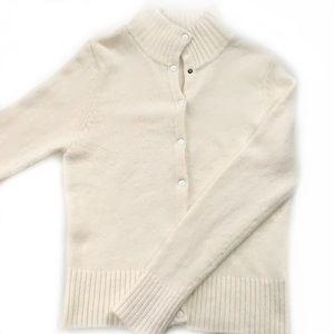 Zara • Fuzzy Snap Button Cardigan